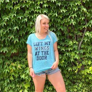 Victoria's Secret Left My Wings at the Door Tshirt